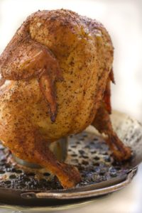 Roasting Beer Can Chicken - Fresh Off the Grill