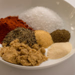 Seasonings and Spices for All-Purpose Dry Rub