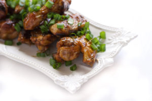 Chicken Wings with Asian Sauce