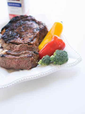 Simple Marinated A1 Steak