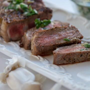 Herb Buttered Steak