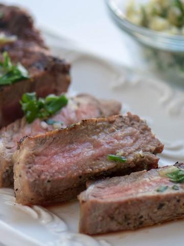 Herbed Butter Steak