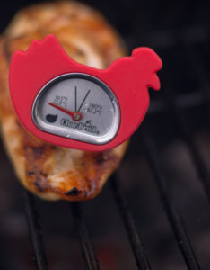 Check Temperature with a Meat Thermometer