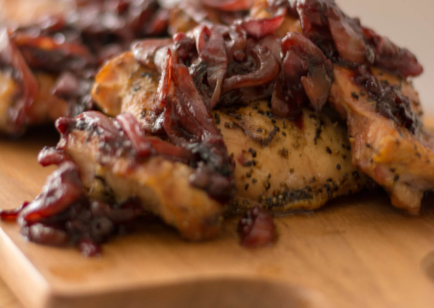 Caramelized Onion Grilled Chicken