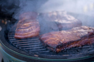 Smoking Bacon on the Big Green Egg