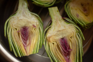Sliced Artichokes in the Instant Pot