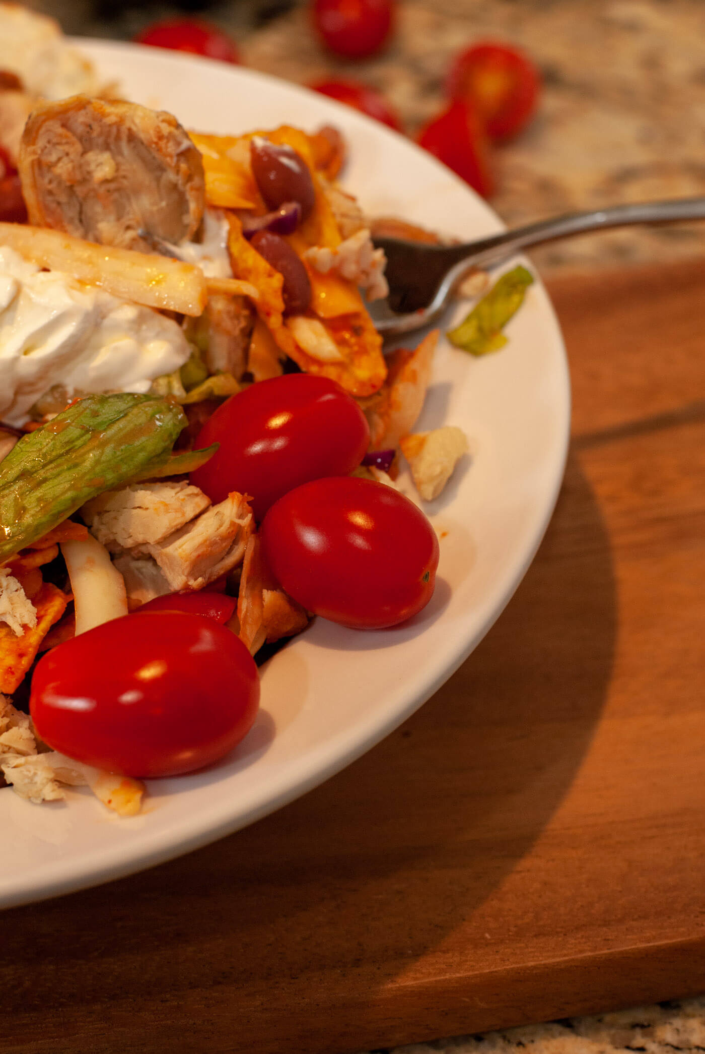 Grilled Chicken Dorito Taco Salad