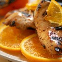 Grilled Honey Orange Chicken Wings