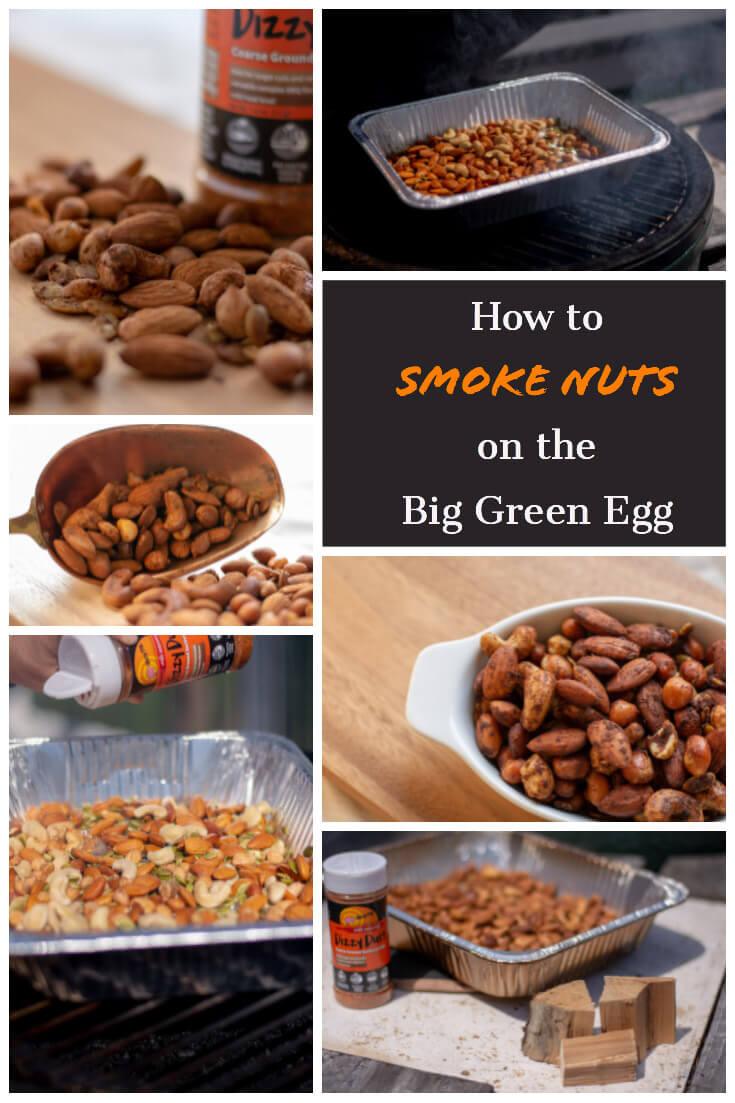 Smoking Nuts on the Big Green Egg