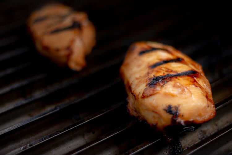 Perfect Sear Marks and Juicy Boneless Skinless Chicken Breast for Sweet and Spicy BBQ Chicken Recipe