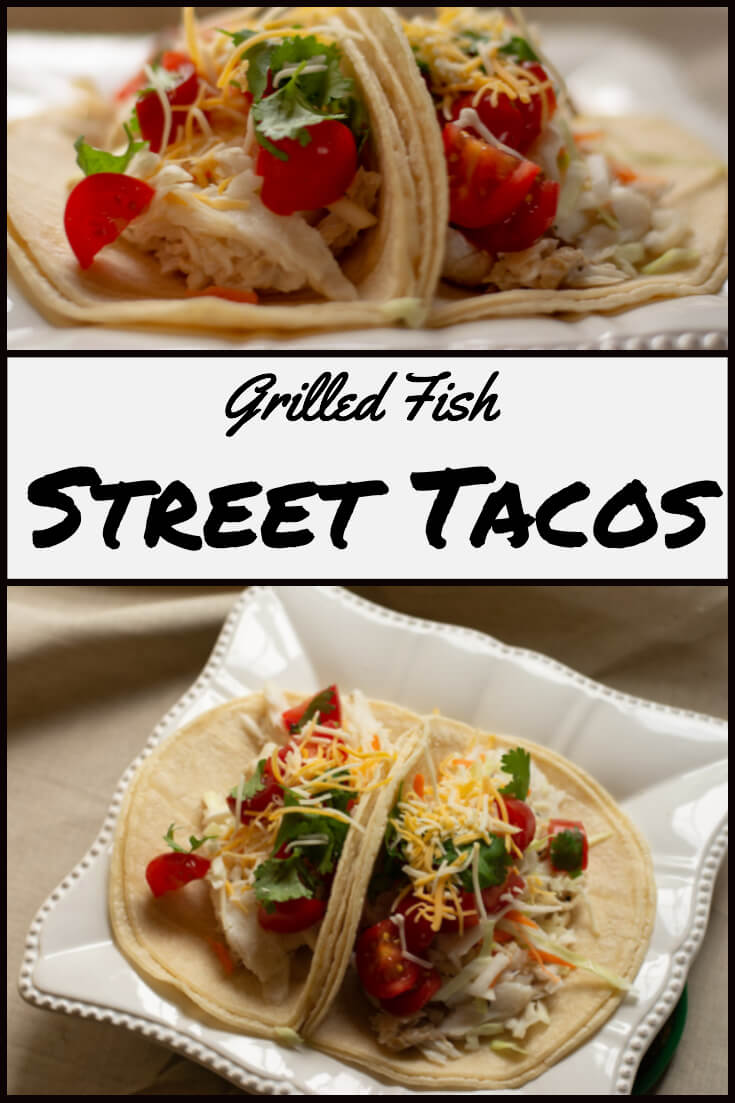 Easy Grilled Fish Street Tacos Recipe#BigGreenEgg #BGE #taco #streettaco #halibut #mexican