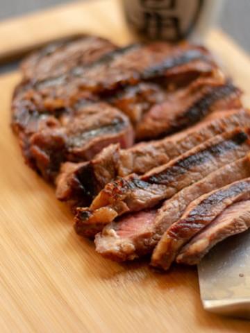 Grilled Teriyaki Steak Recipe Ready to Eat