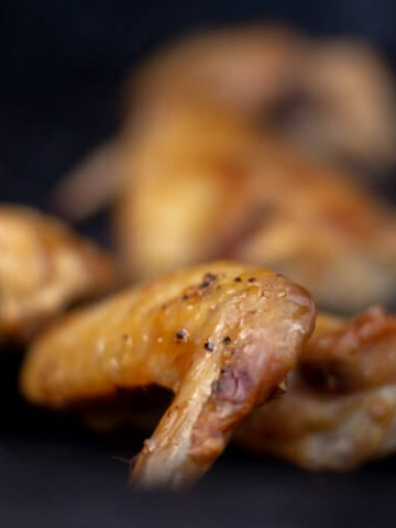 Grilled Apricot Chicken Wings