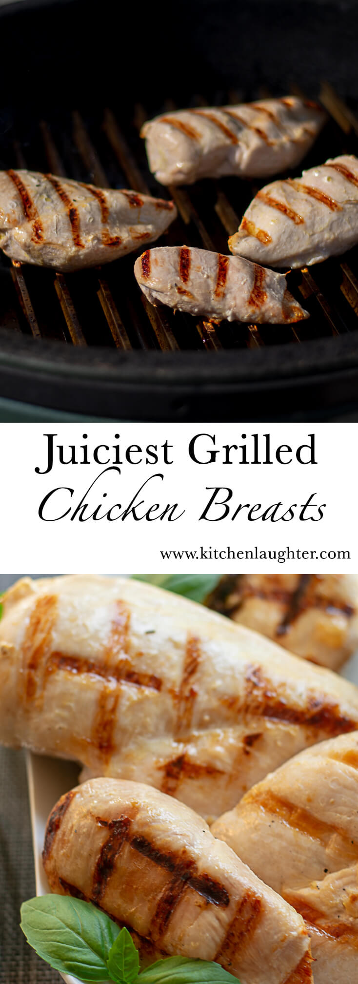 Juicy Chicken Breast on the Big Green Egg #BGE #GrilledChicken #BigGreenEgg #Grill #Grilled #ChickenBreast