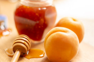 apricots and honey
