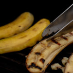 Flip over the bananas and be careful as they might stick
