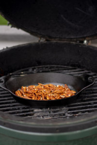 Roasting Pecans in a Cast Iron Skillet