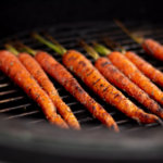 Grilled Carrots on Big Green Egg