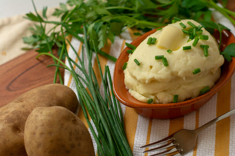 Taste the Cream Cheese and Garlic in this Mashed Potato Dish