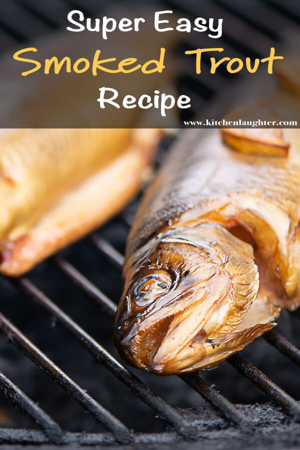 Smoke a Whole Trout with Butter and Lemon. Super Simple Steps to Make a Traditional Smoked Trout #BGE #BigGreenEgg #SmokedTrout #SmokedFish #Trout #Grill #Fish #Grilling #Smoker #Smoking