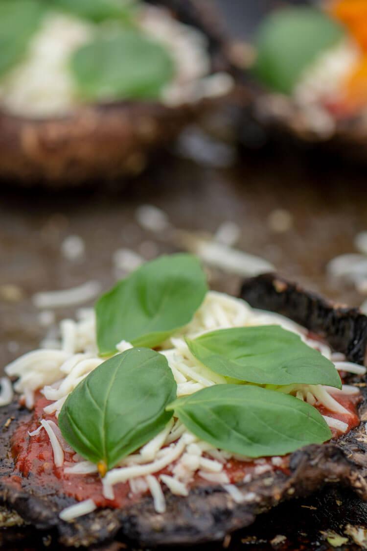 Add Basil to make it a Margherita