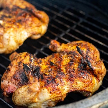 Perfectly Grilled Spatchcocked Cornish Hens on the Grill