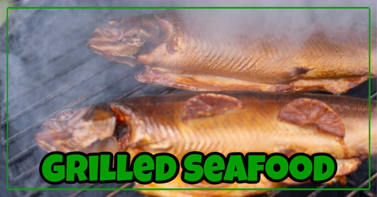 Grilled Seafood Recipes for a healthy alternative to traditional grilled meat. This smoked trout will melt in your mouth.