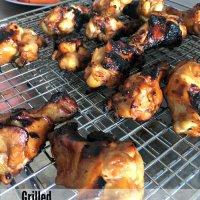 Grilled Chicken Teriyaki Wings Recipe