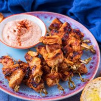 Paprika Chicken Skewers