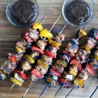 Sweet Honey Chicken Kabobs