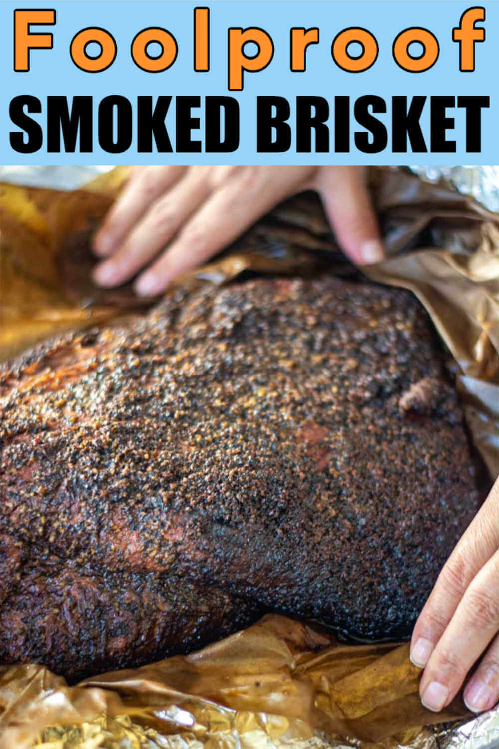 Super Easy Smoked Brisket Recipe Using the Wrapped Method
