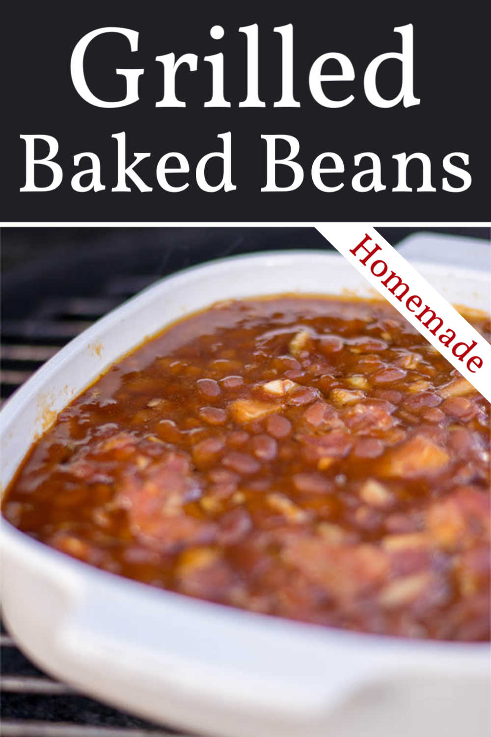 Homemade Grilled Baked Beans