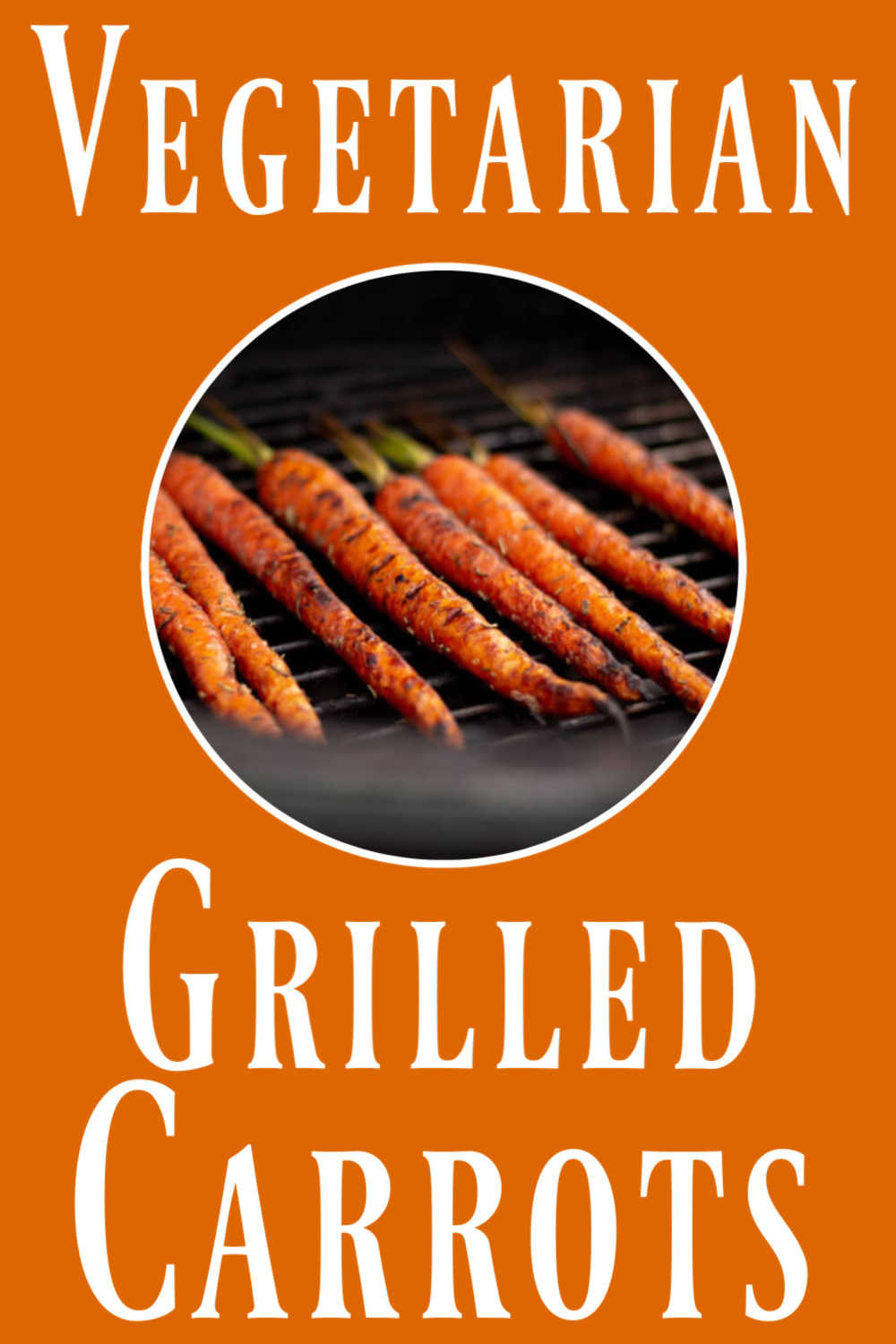 Grilled Carrots with Balsamic Glaze
