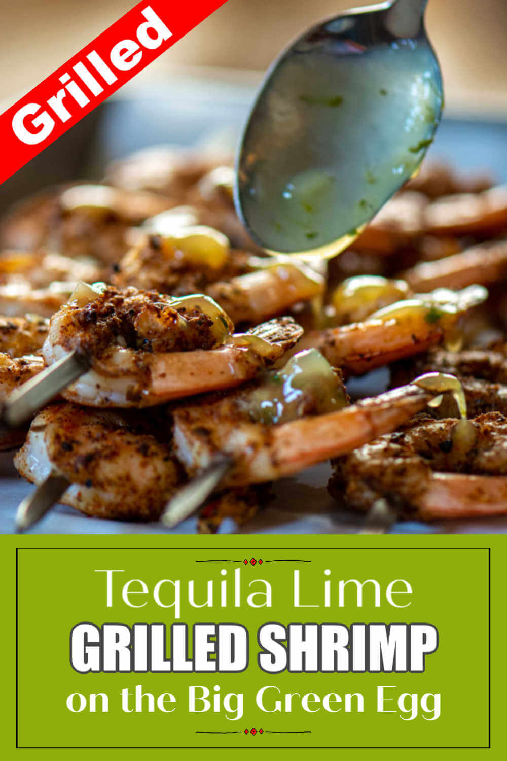 How to Grill Shrimp on a Salt Block - Tequila Lime Shrimp