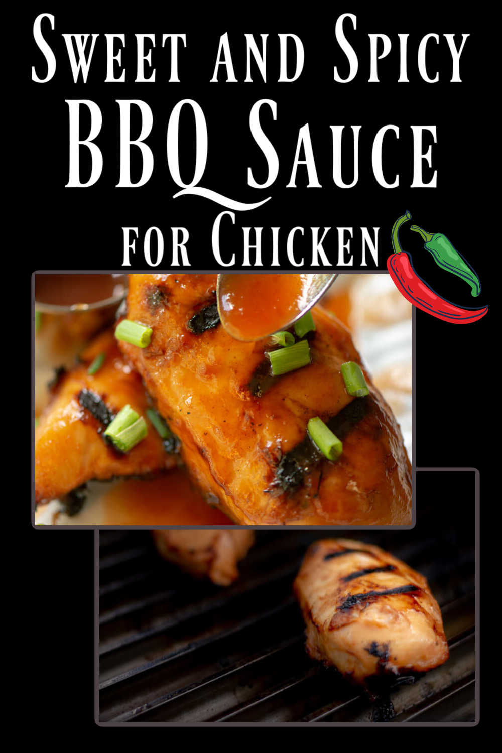 Sweet and Spicy BBQ Sauce Recipe for Grilled Chicken