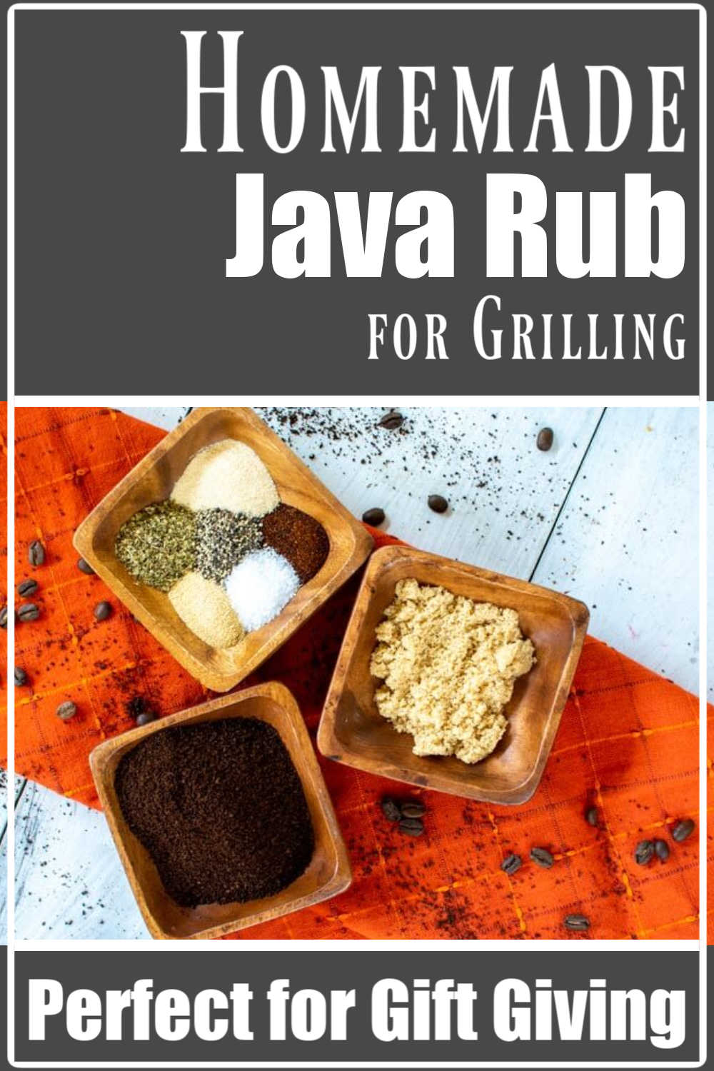 Homemade Java Rub for Grilling