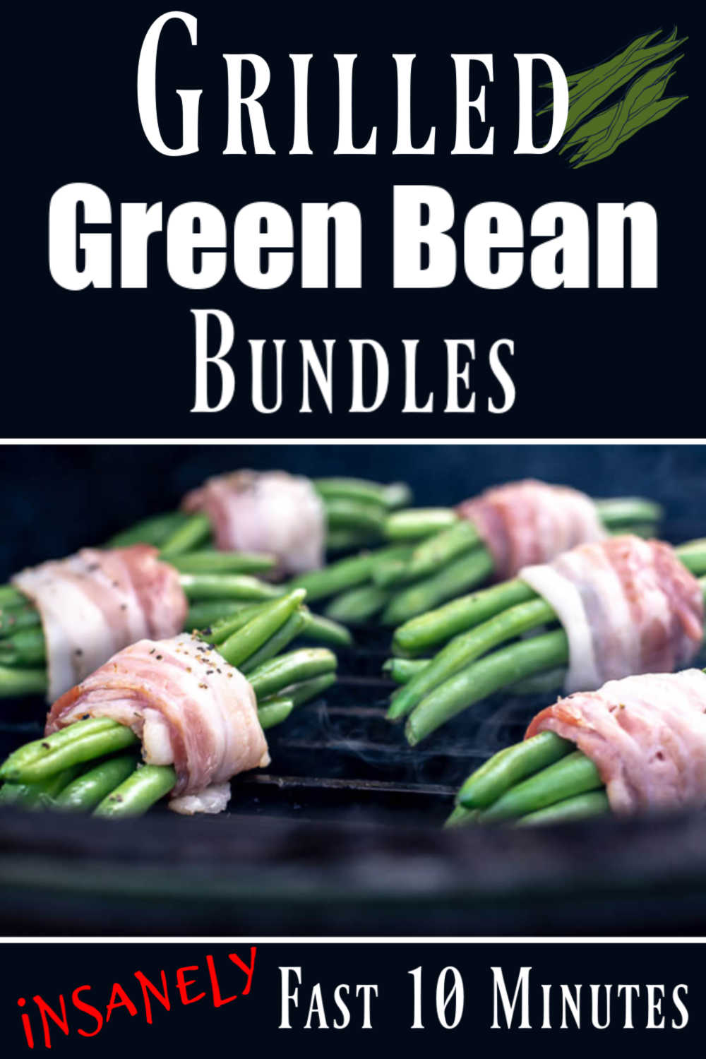 Asian Bacon Green Bean Bundles