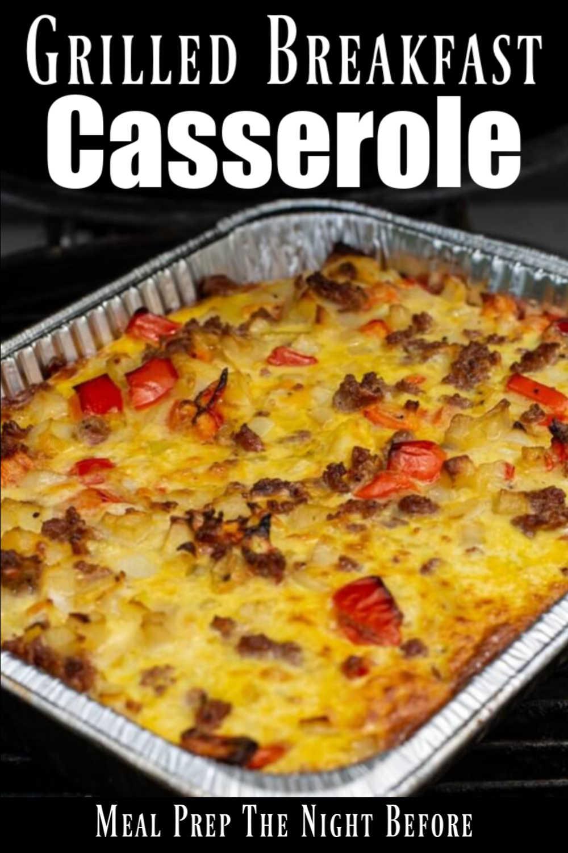Grilled Sausage Breakfast Casserole