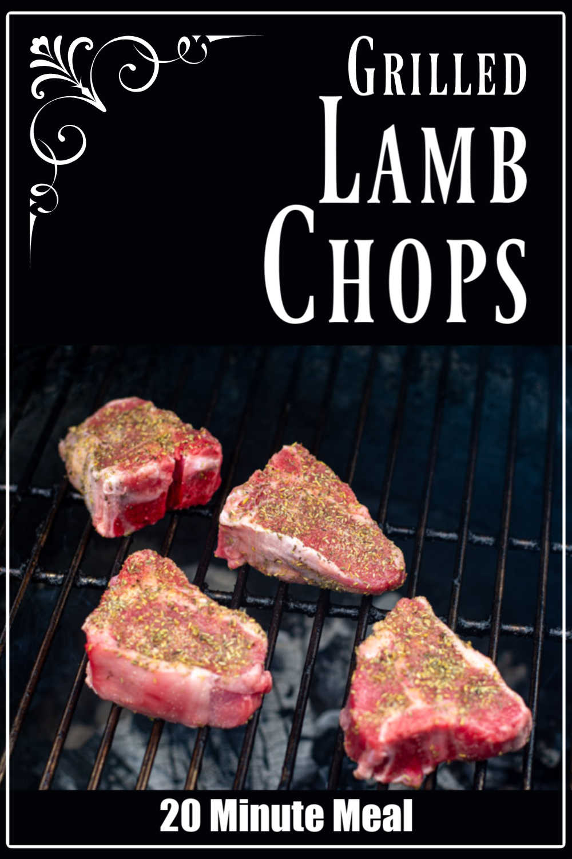 Grilled Lamb Chops {20 Minutes}