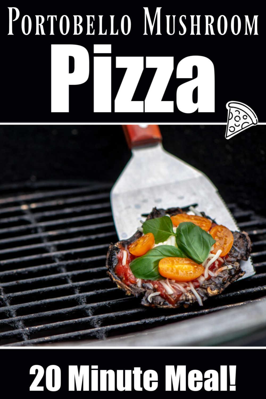 Grilled Portobello Mushroom Pizza