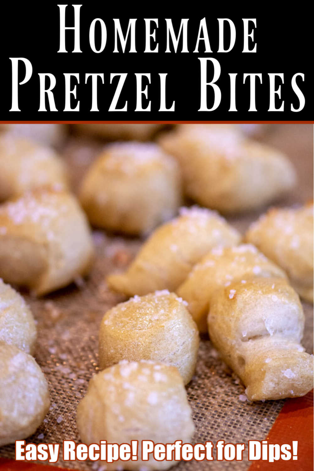 Bread Machine Homemade Soft Pretzel Bites