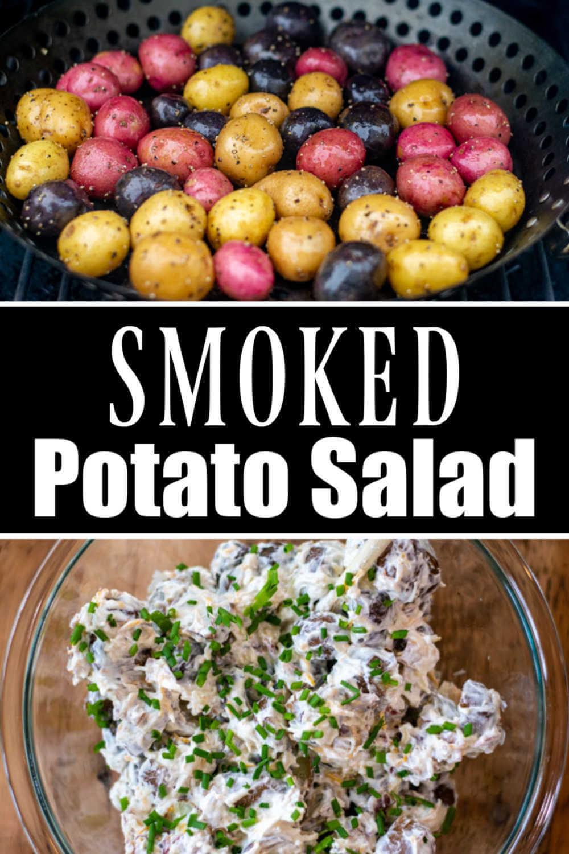 Amazing Smoked Potato Salad {60 Minutes}
