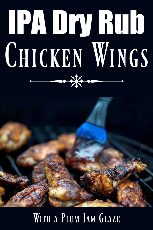 DizzyPig IPA Dry Rub Smoked Chicken Wings