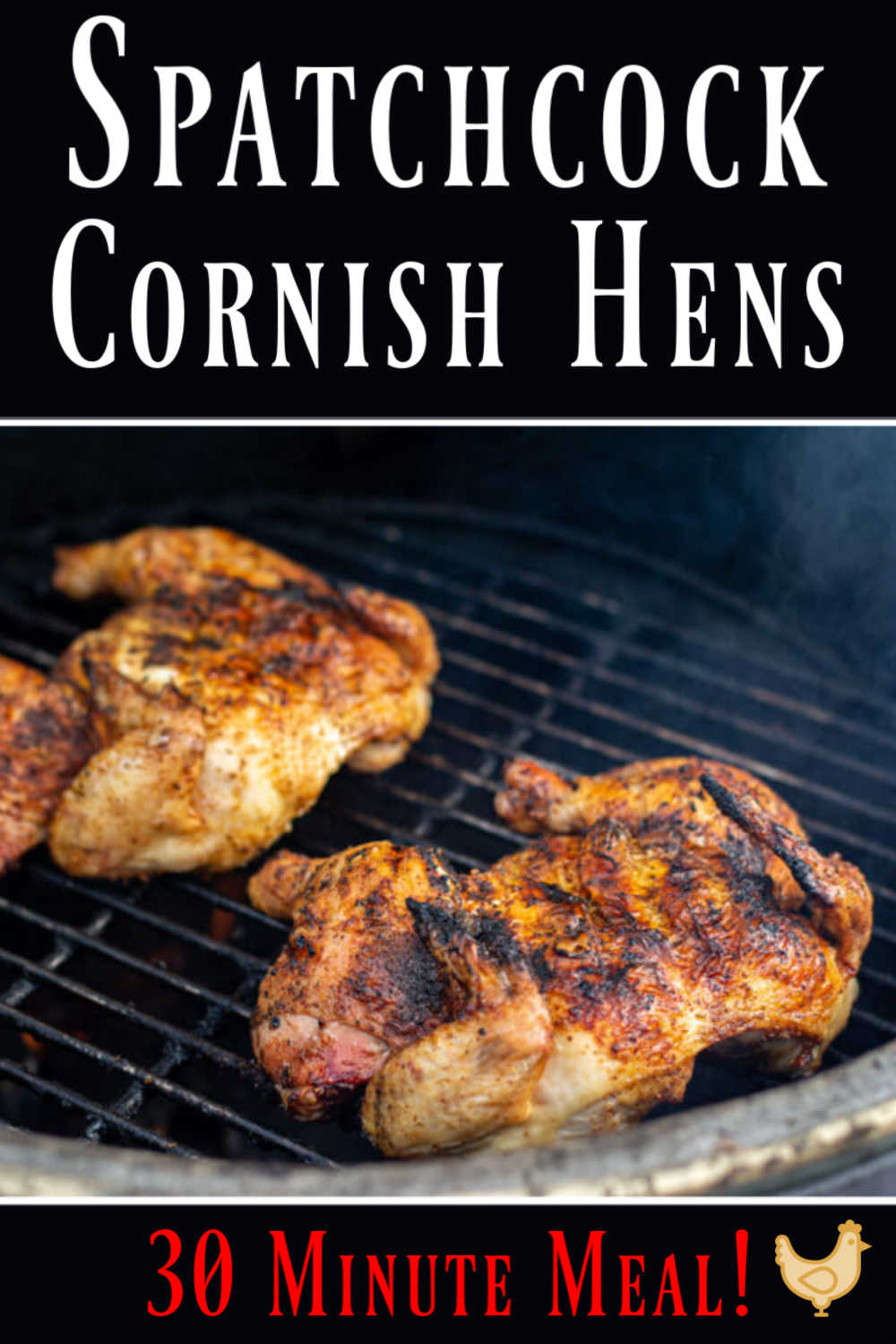 Grilled Spatchcock Cornish Hens {30 Minutes}