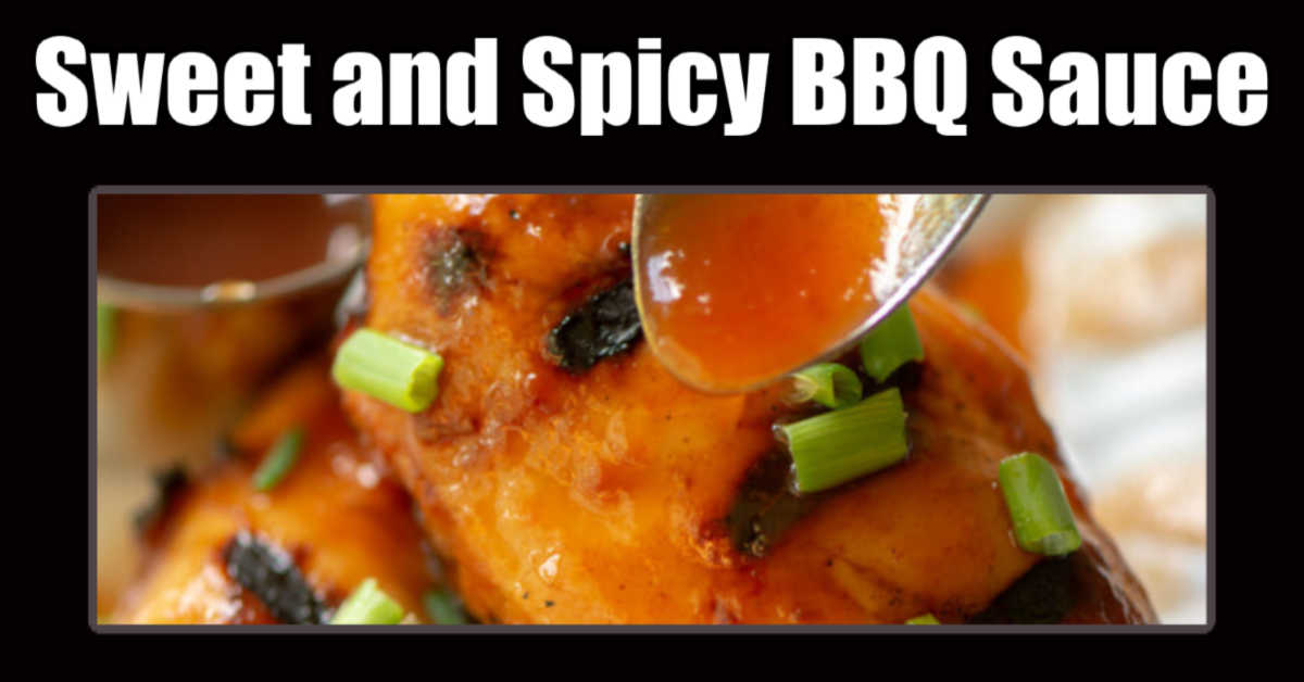adding more spicy bbq sauce to grilled chicken