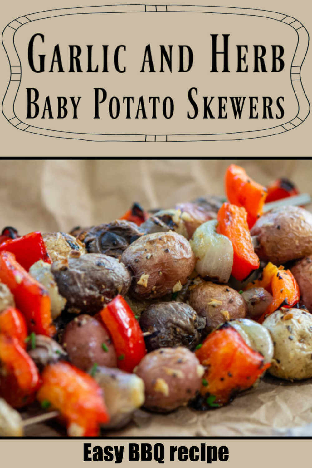 Grilled Baby Potatoes with Garlic