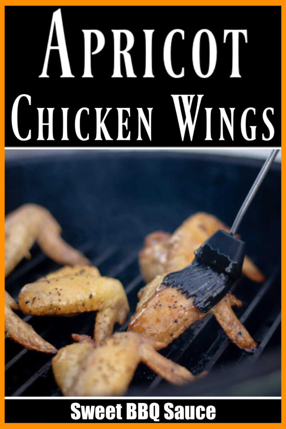 Apricot Chicken Wings - Easy Grilling