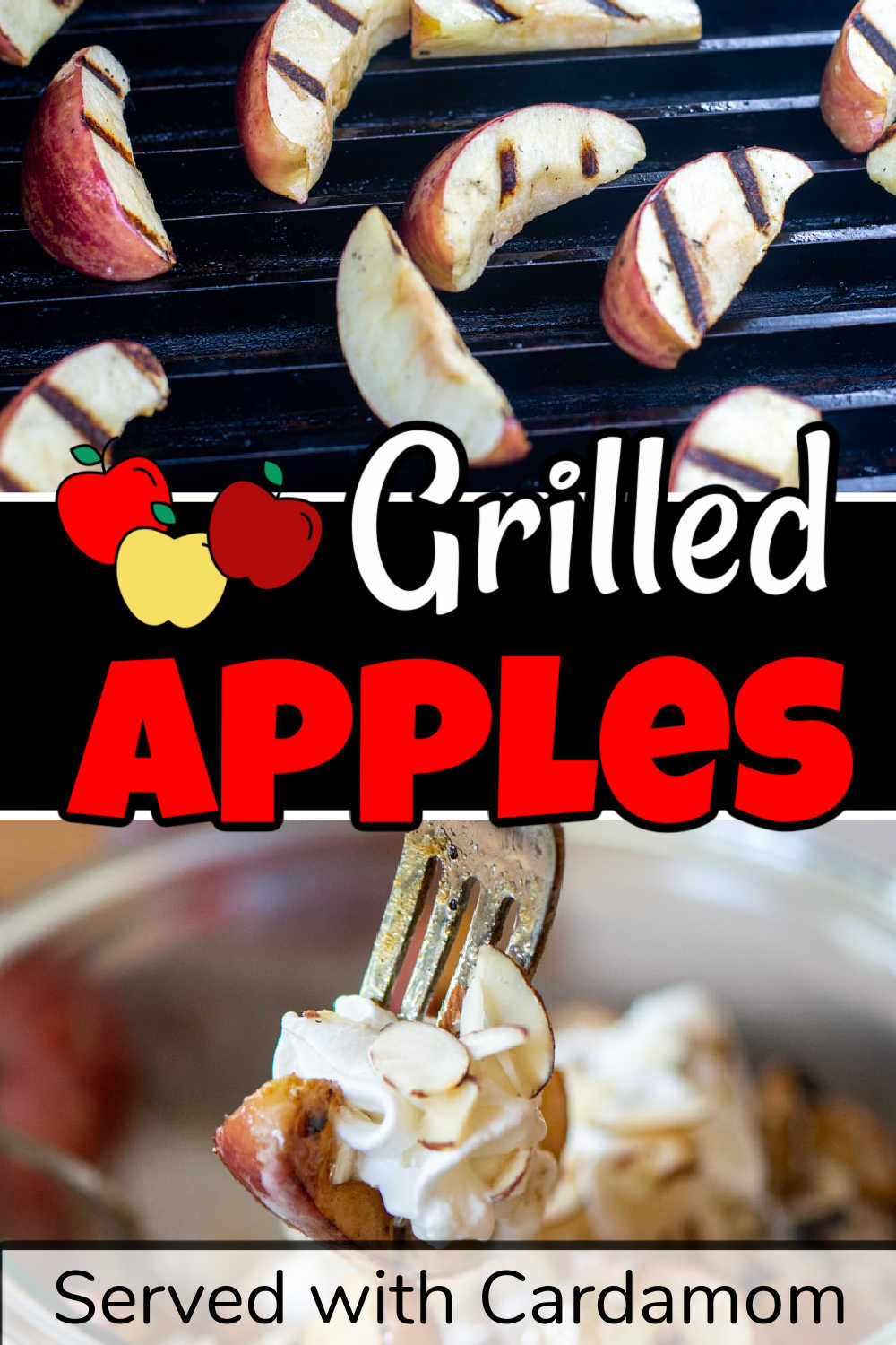 Grilled Apples with Cardamom