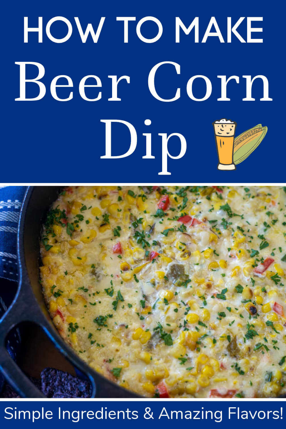 Beer Corn Crack Dip