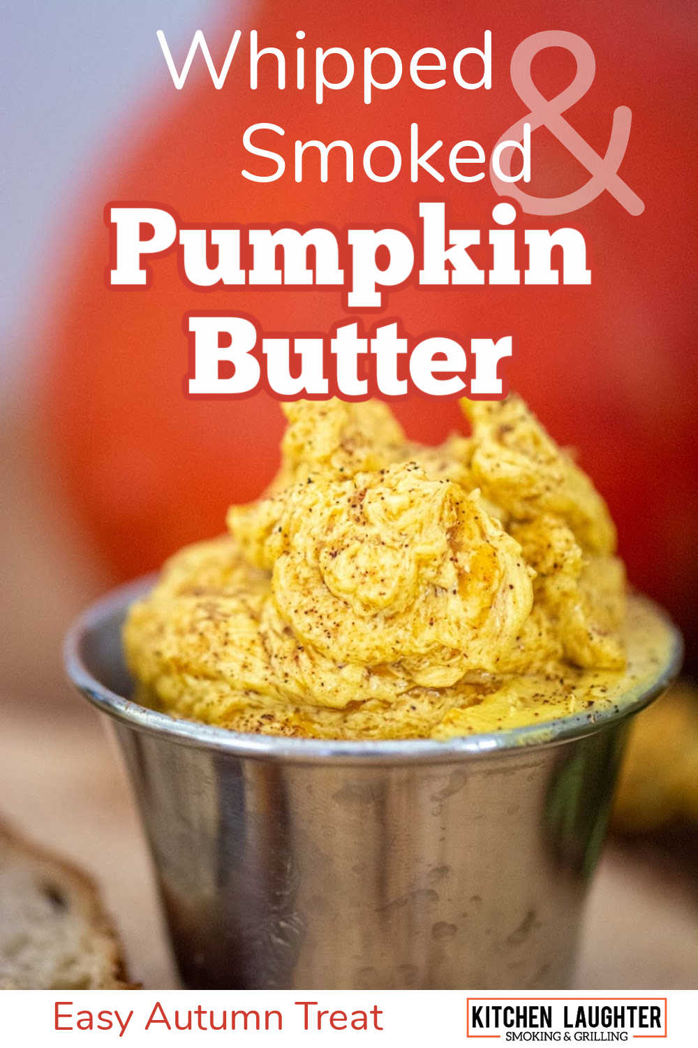Whipped Smoked Pumpkin Butter {10 Minutes}